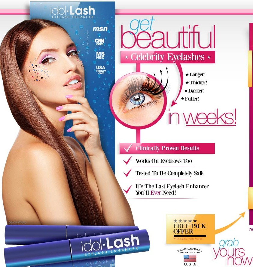 Best Eyelash Growth Formula Free Product Pack Offer