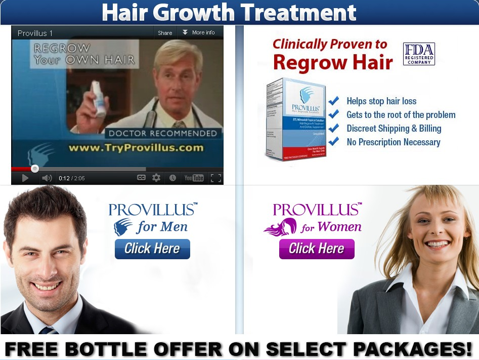 Hair Regrowth Products Treatment