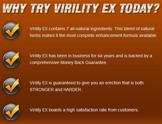 Why Buy Virility EX Supplement