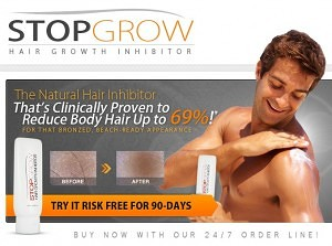 Stop Grow Hair Growth Inhibitor for Man